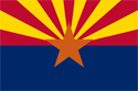 4' x 6' Arizona Flag for outdoor use, nylon