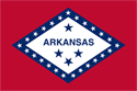 4' x 6' Arkansas Flag for outdoor use