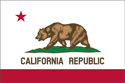 2' x 3' California Flag for outdoor use