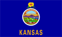 4' x 6' Kansas Flag for outdoor use