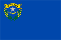2' x 3' Nevada flag for outdoor use