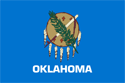 2' x 3' Oklahoma flag for outdoor use