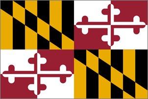 2' x 3' Maryland Flag for outdoor use