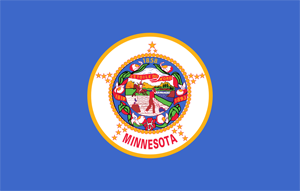 3' x 5' Minnesota Flag for outdoor use