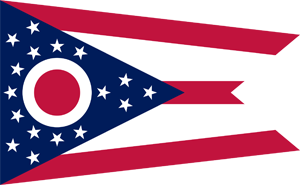 5' x 8' Ohio Flag for outdoor use, nylon