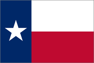 15' x 25' Texas flag, nylon, for outdoor use