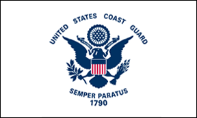 Coast Guard 2x3' Flag, Nylon