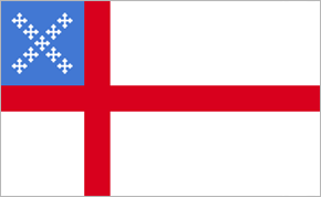 3' x 5' Episcopal Flag for outdoor use, nylon