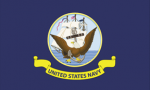 Navy 2x3' Flag, Nylon