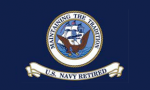 Navy Retired 3x4' Flag, Nylon
