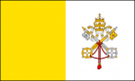 5' x 8' Papal Flag for outdoor use, nylon