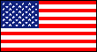 3' x 5' United States flag, nylon, for outdoor use